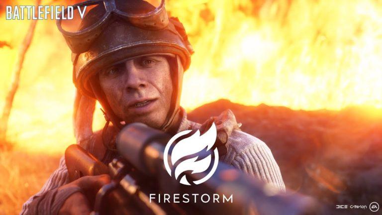 Battlefield V Firestorm için yeni videolar yayınladı
