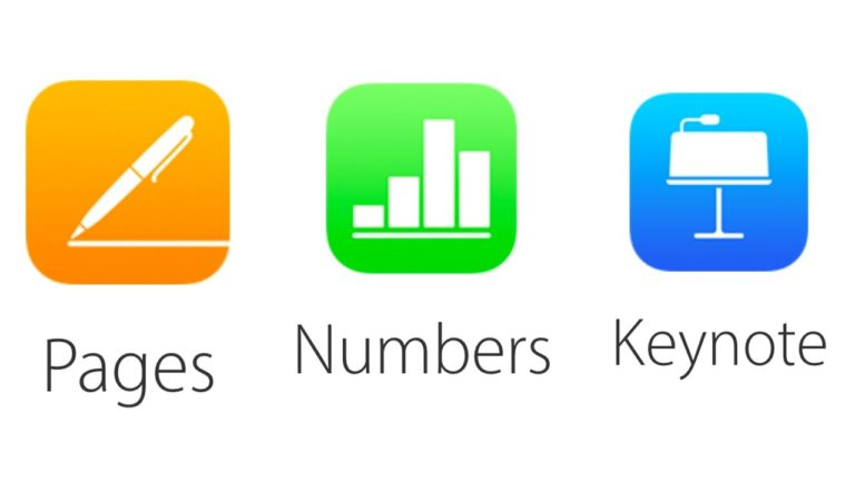 Pages, Numbers ve Keynote uygulamaları güncellendi!