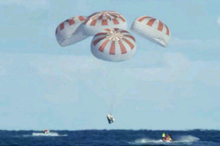 SpaceX'in Crew Dragon kapsülü Görevini tamamladı