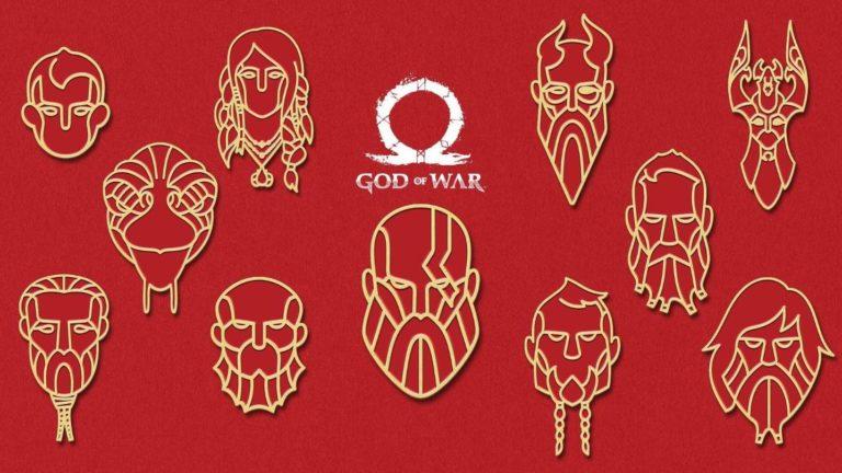 PS4 için God of War teması ve avatarı yayınlandı!