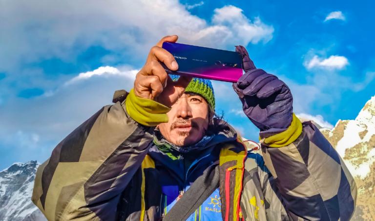 Oppo F11 Pro ile çekilen Everest fotoğrafları göz kamaştırıyor