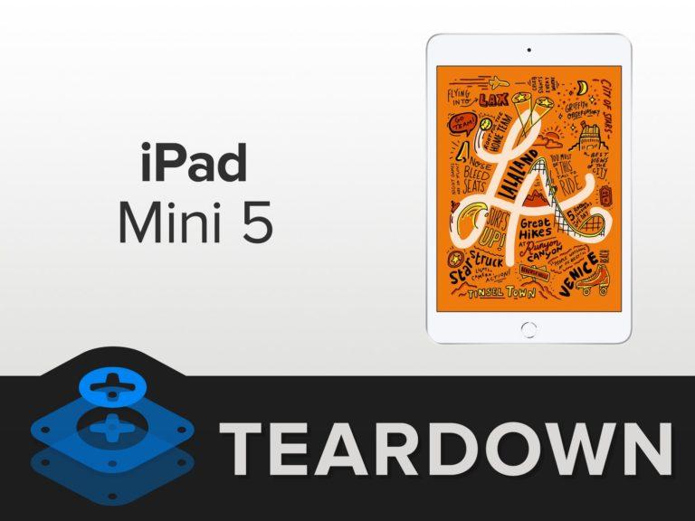 iPad mini 5 parçalarına ayrıldı!