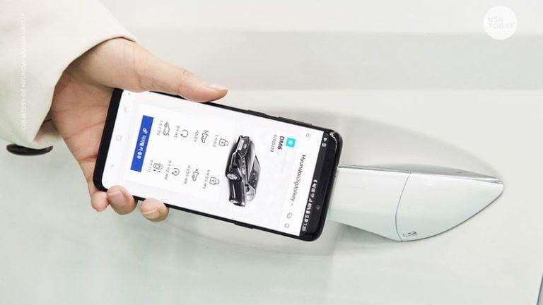 'Digital Key' gelecekteki tüm Hyundai ve Kia modellerinde standart olacak!