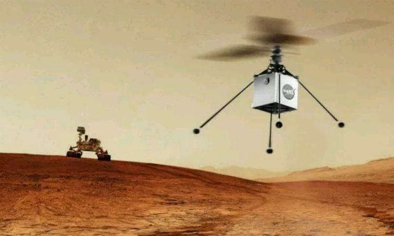 Mars Helikopteri kullanıma hazır!