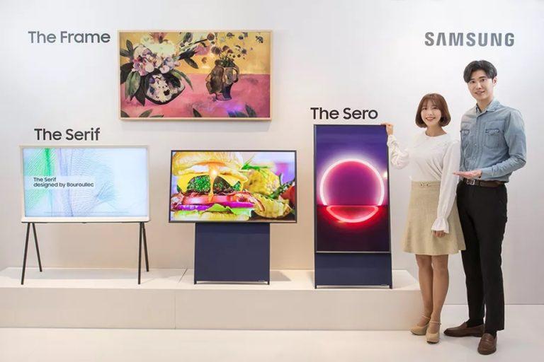 Samsung'dan dikey televizyon: The Sero!