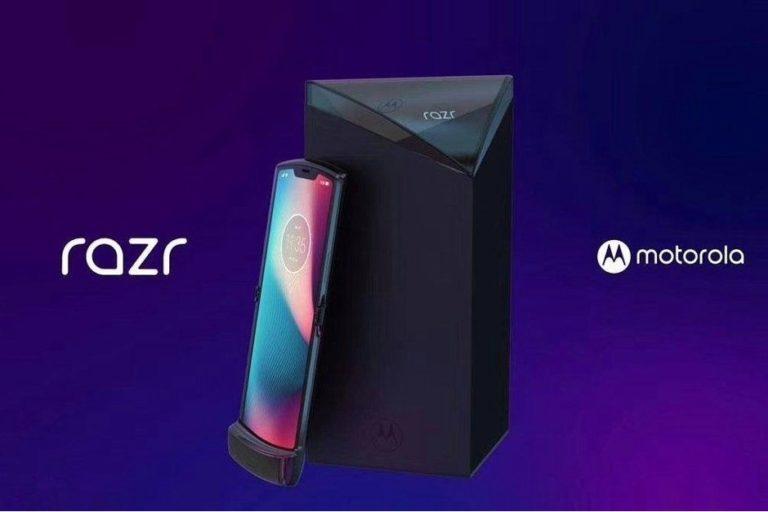 Katlanabilir telefon Motorola Razr sızdı!