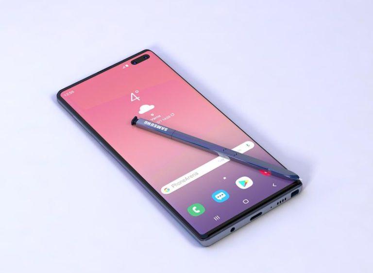 Galaxy Note 10 renkleri belli oldu!