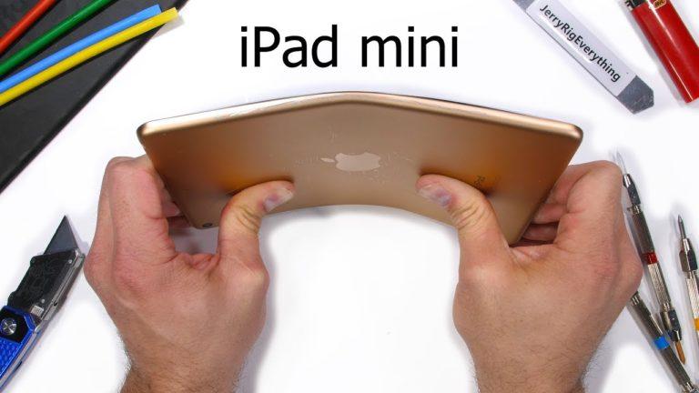 iPad Mini 2019 ne kadar sağlam?