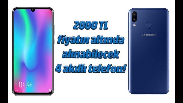 2000 TL altında fiyata alınabilecek 4 akıllı telefon