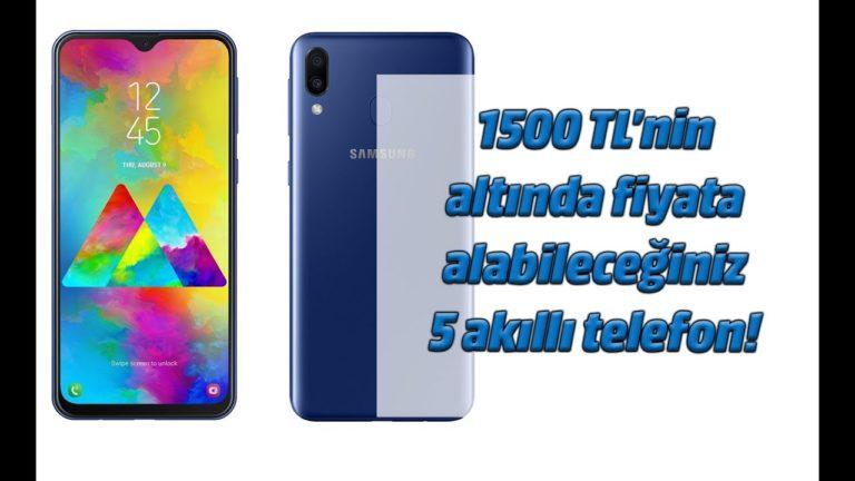 1500 TL altı alınabilecek en iyi akıllı telefonlar – Nisan 2019