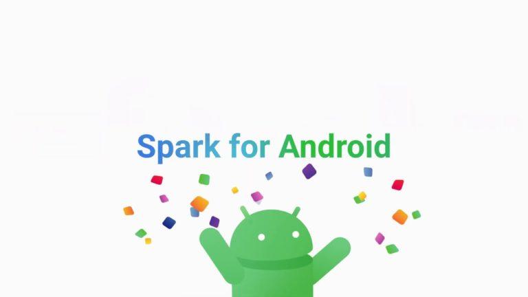 Mail uygulaması Spark Android'e geldi!