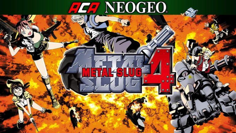 METAL SLUG 4 Achievement Listesi yayınlandı!