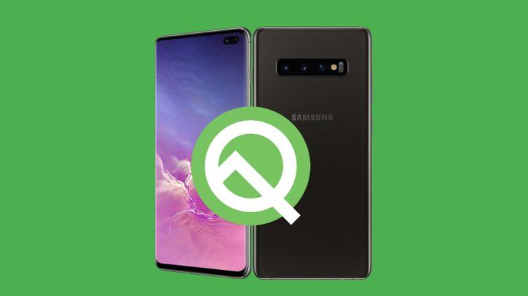 Android Q alacak Samsung modelleri!