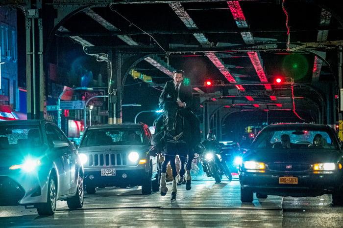 John Wick 3 Parabelyum Türkiye'de en çok izlenen film oldu!