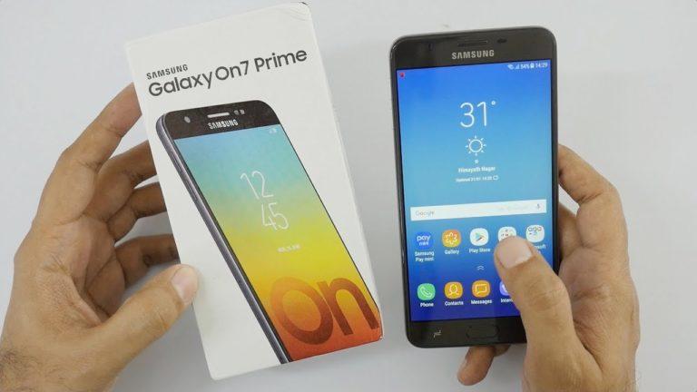 Galaxy On7 Prime için Android Pie çıktı!