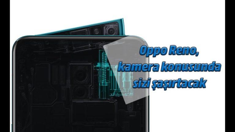 Oppo Reno kutu açılış videosu (Unboxing)