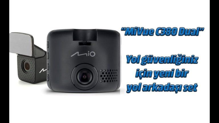 MiVue C380 Dual araç kamerası inceleme