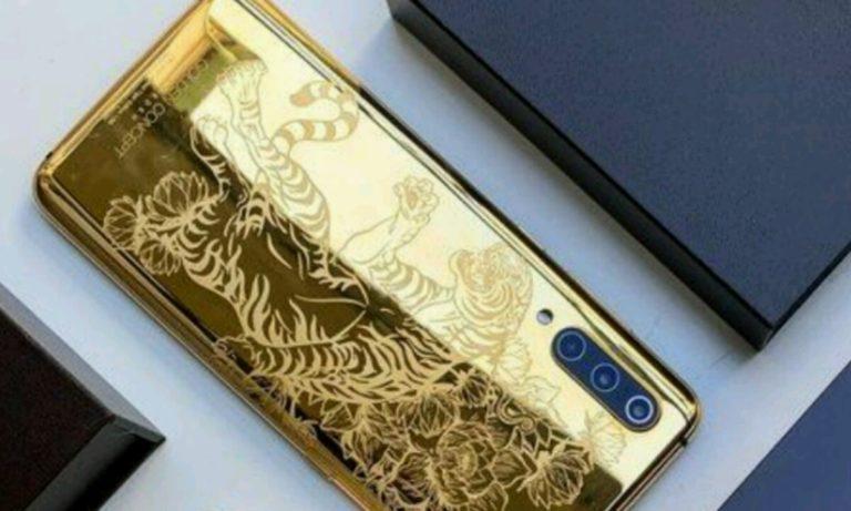 Xiaomi Mi 9 modeli 24 ayar saf altın kaplama olacak!