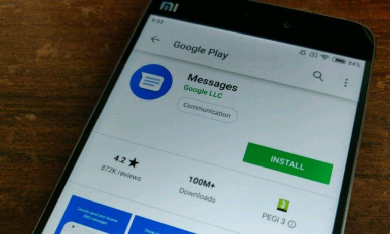 Google mesajlar uygulaması yepyeni özellikler test ediyor