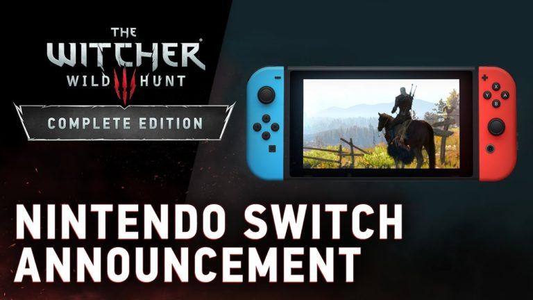 The Witcher 3 Wild Hunt Switch'e geliyor!