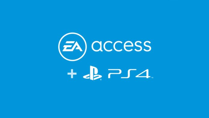 PlayStation 4 için EA Access