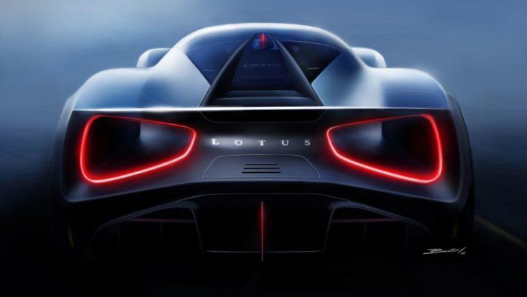 Lotus'tan 2.000 beygirlik elektrikli hypercar: Lotus Evija!