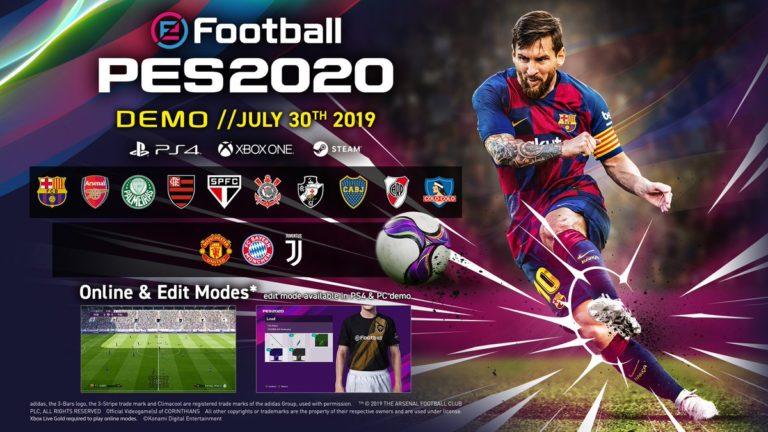 eFootball PES 2020 Demo çıktı! İndir!