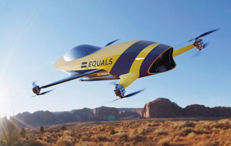 Airspeeder uçan araba ile yarış düzenleyecek!