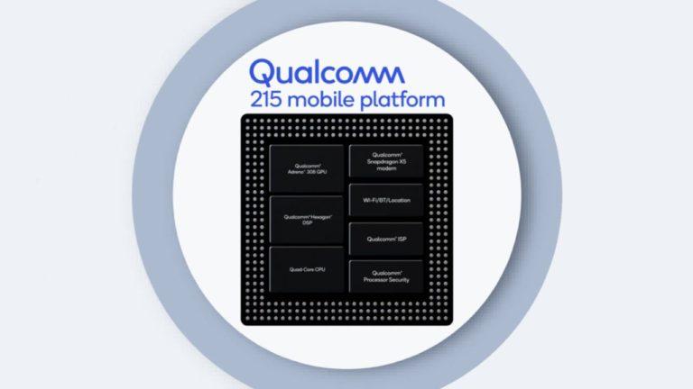 Qualcomm Snapdragon 215 modelini duyurdu!