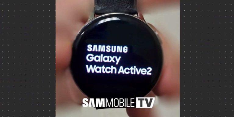 Samsung Galaxy Watch Active 2 sızdı!