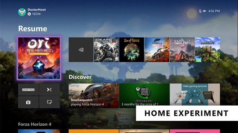 Xbox One arayüzü yenileniyor!