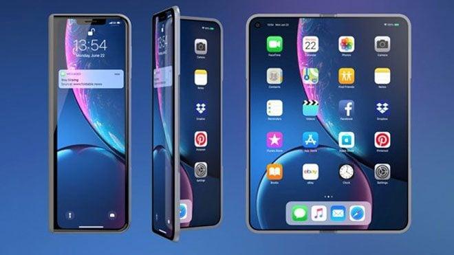 Katlanabilir iPhone tam olarak katlanabilir olmayacak