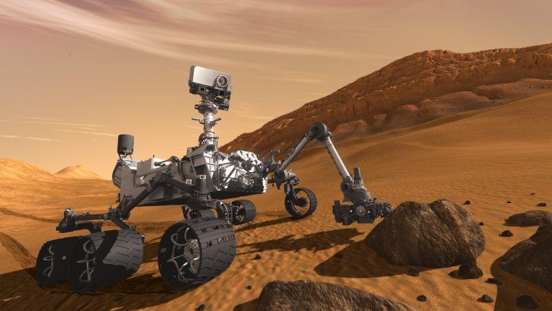 Mars yüzeyinde çok ilginç