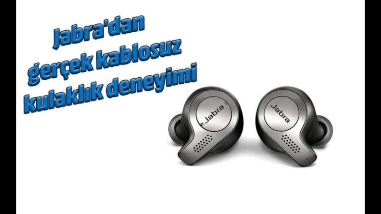 Jabra Elite 65t Bluetooth kulak içi kulaklık inceleme