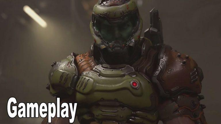 Doom Eternal için yeni oynanış videosu