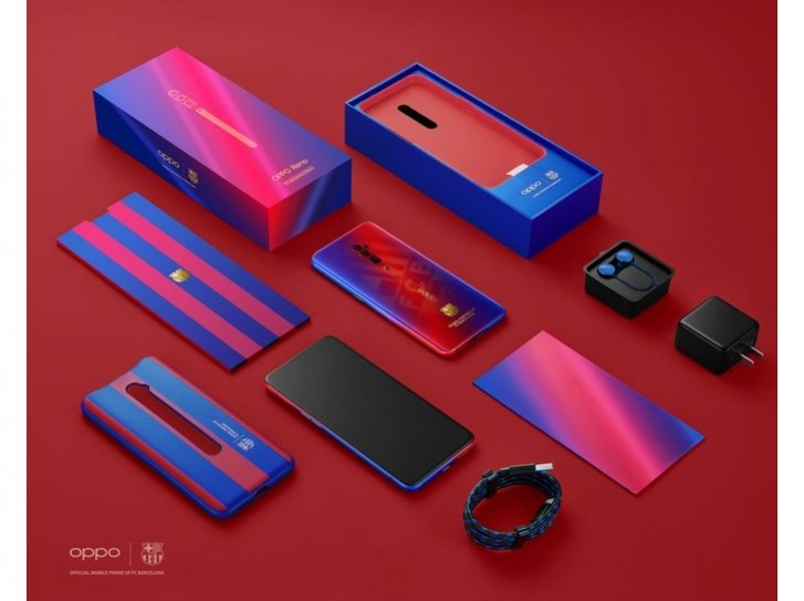 Oppo Reno 10x zoom FC Barcelona Edition tanıtıldı