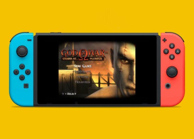 Nintendo Switch için PSP emülatörü çıktı!