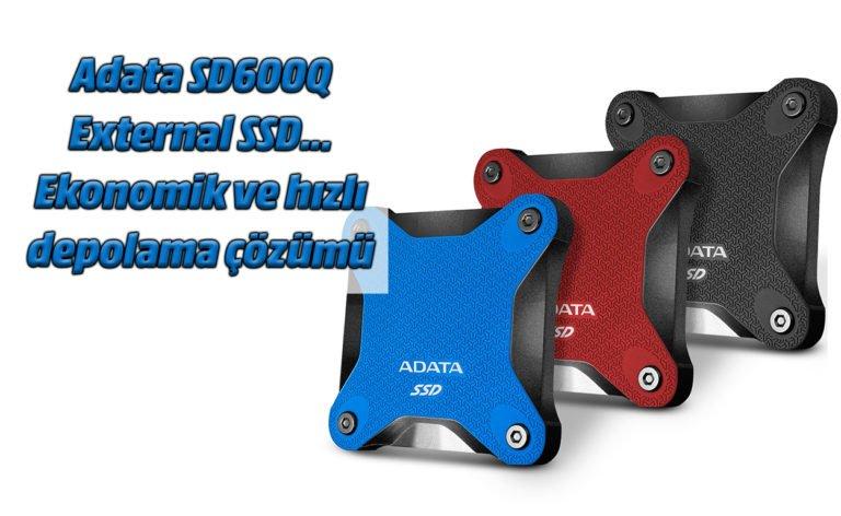 Adata SD600Q External SSD. Ekonomik ve hızlı depolama çözümü