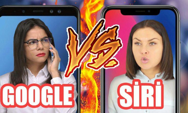 Google Asistan Siri'yi tepetaklak etti