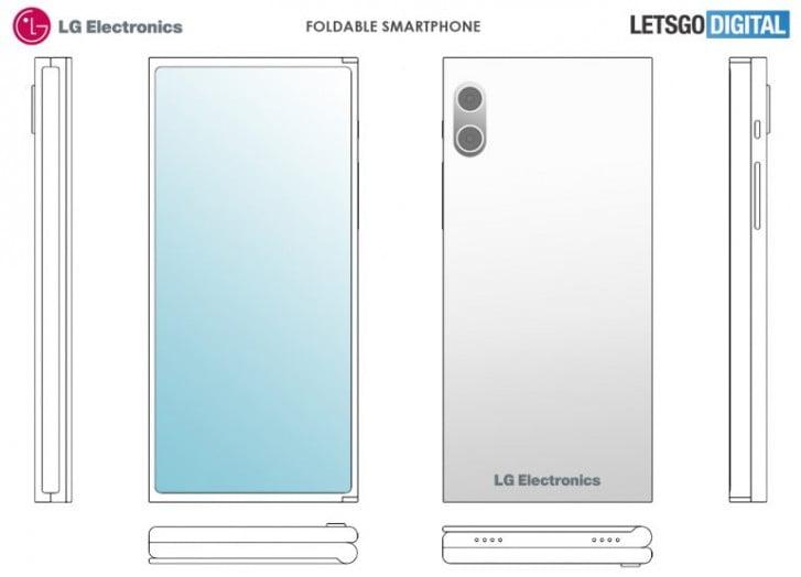 LG katlanabilir ekranlı akıllı telefonu için patent aldı