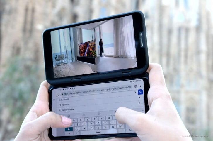 LG katlanabilir ekranlar konusunda çekingen davranıyor