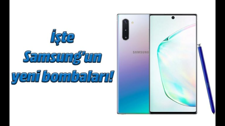 Samsung Galaxy Note 10 ve Galaxy Note 10 Plus ön inceleme
