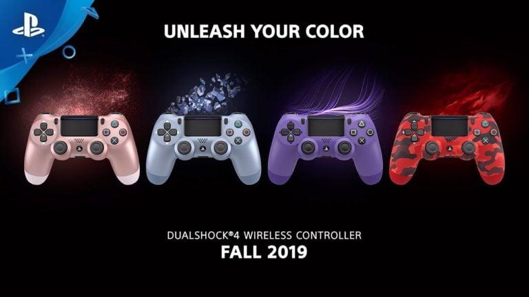 Dualshock 4 yeni renklerine kavuştu!
