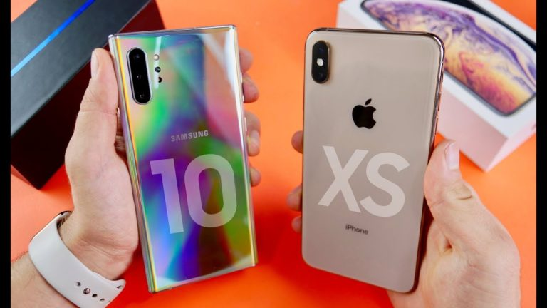 Galaxy Note 10 Plus iPhone Xs Max'i geçemedi!