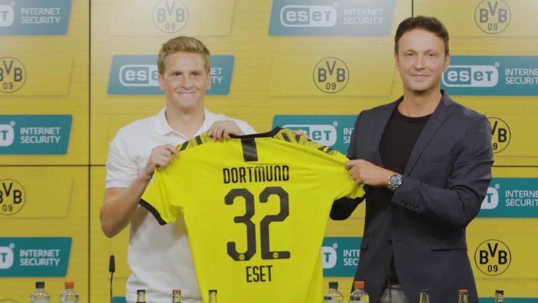 ESET Borussia Dortmund'un Şampiyon Ortağı oldu
