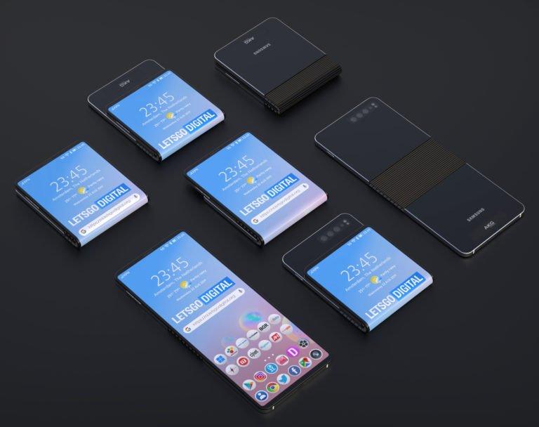 Samsung katlanabilir telefon için yeni patent aldı!