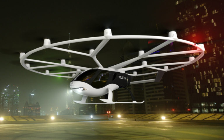Volocopter otonom uçan taksi tanıttı