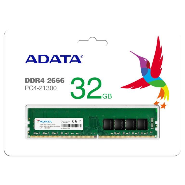 ADATA RAM kapasitelerini ikiye katlıyor