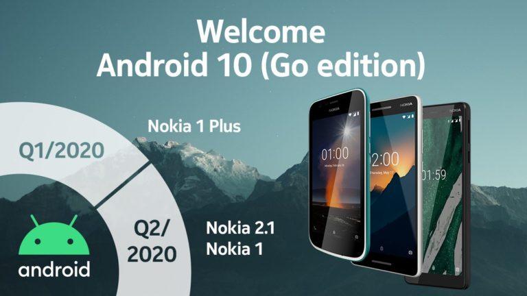 Android 10 ve Android 10 Go alacak Nokia modelleri!