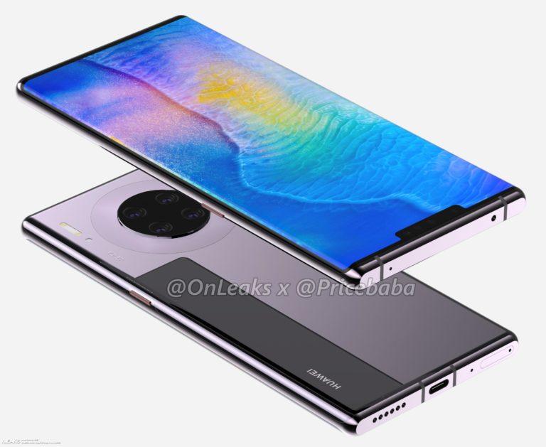 İşte karşınızda Huawei Mate 30 Pro!